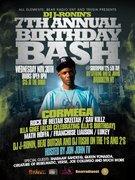 DJ J RONIN BIRTHDAY BASH FT CORMEGA