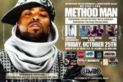 Method Man Performing Live Oct 25th Lawrence MA