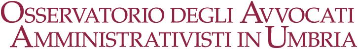 Osservatorio degli Avvocati Amministrativisti in Umbria