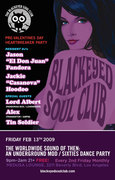 The Blackeyed Soul Club Pre-Valentine Heartbreakers Party!