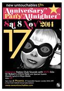 17th New Untouchables Anniversary Party Allnighter
