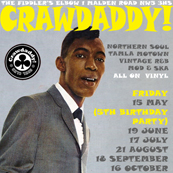 Crawdaddy! with guest DJ Bob Stanley (Saint Etienne)