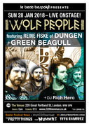 WOLF PEOPLE feat Reine Fiske of Dungen + Green Seagull LIVE