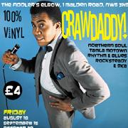 Crawdaddy! with guest DJ Ian Jackson + mod author Dave Dry