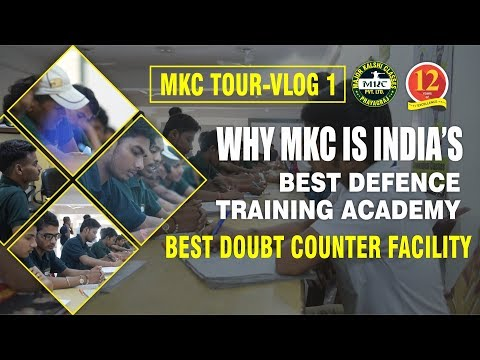 MKC Tour - VLOG 1 - How Doubt Counter Facility helps Students in their Preparation