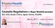 World Economies Cosmetic Regulations Webinar