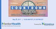 Webinar on MACRA Countdown