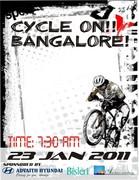 CYCLE ON BANGALORE!!
