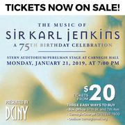 The Music of Sir Karl Jenkins: A 75th Birthday Celebration