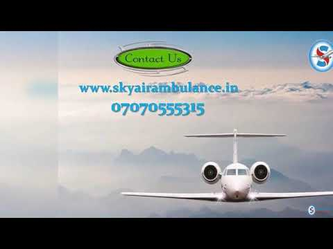 Select Latest Commercial Air Ambulance Service in Siliguri by Sky