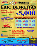 $5000 Eric DeFreitas Scratch Singles Classic sponsored by Boom Apparel