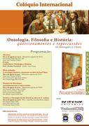Colóquio Internacional: Ontologia, Filosofia e História