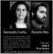 Fernanda Cunha (show em Buenos Aires)