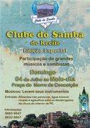 Clube Do Samba De Recife - Edição Especial.