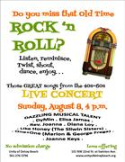 OLD TIME ROCK AND ROLL CONCERT