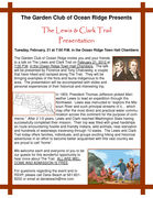 Presentation: The Lewis & Clark Trail