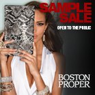 Boston Proper Sample Sale