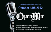 This Thursday! Open Mic Night