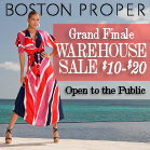 Boston Proper Grand Finale Sample Sale