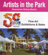 """Delray Art League """"Artists in the Park"""""""