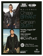 Free Concert at CityPlace