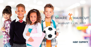 Hair Cuttery's Share-A-Haircut Aug 1-15
