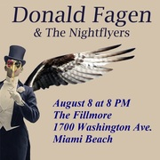 Donald Fagen and the Nightflyers at the Fillmore August 8
