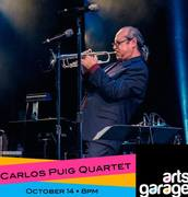 Carlos Puig Quartet at Arts Garage Oct 14.