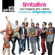 October 20, 8 PM: TimbaLive comes to Arts Garage