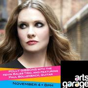 International artist Polly Gibbons performs at the Arts Garage