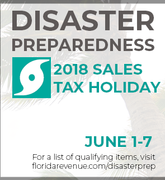 Disaster Preparedness 2018 Sales Tax Holiday