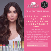Gramercy Hair Salon will be hosting a fundraiser for the George Snow Scholarship Fund