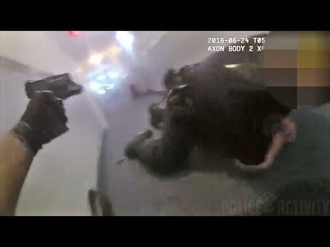 Bodycam Captures Intense Police Shootout in San Diego