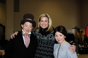Cynthia Geary, Josh and Emily Rudolph