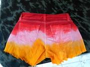 Short colorido para o carnaval!!!