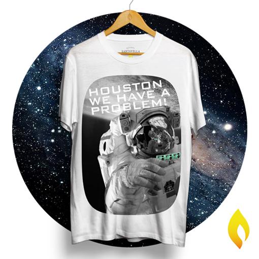 Houston tshirt - Santavella Clothing