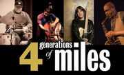 """Four Generations of Miles"""" Jimmy Cobb, Mike Stern, Buster Williams, Sonny Fortune @ Blues Alley Tonight thru Sunday RSVP Today!"""