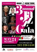 Made In New York Competition 3rd Annual Jazz Gala * May 21st * Tribeca Performing Arts Center