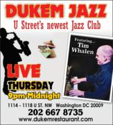 Dukem Jazz presents Tim Whalen