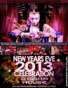 Geisha House Hollywood New Years Eve