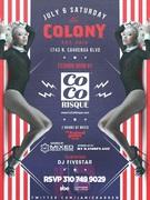 Coco Risque Fashion Show at Colony LA