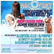 Playboy Playmate DJ Crystal Ellis @ Recovery Pool Party