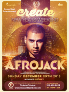 Afrojack @ Create Hollywood