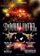 Spooky Hotel W San Francisco Halloween