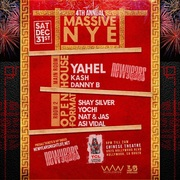 Chinese Theatre NYE New Years Open Bar Tickets