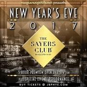 Sayers Club LA NYE New Years Tickets