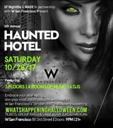 W San Francisco Halloween Party Events