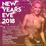 W San Francisco NYE New Years 2018