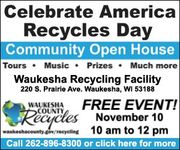 Free Community Event to Celebrate America Recycles Day