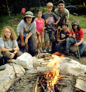 EARTH LIVING CAMP    (ages 8 - 16).